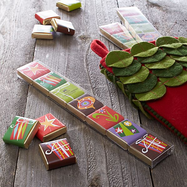 Stocking Stuffer Chocolate Squares