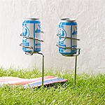 Steady Stick Beer Can Holders, Set of 2