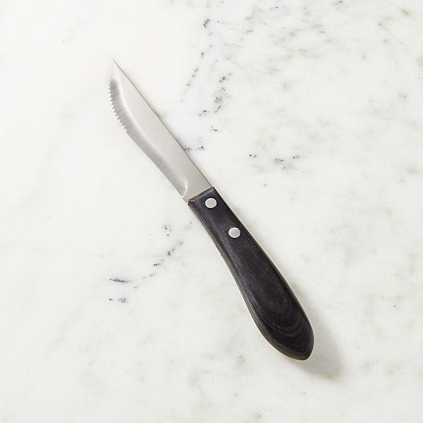 SteakKnifeWPakkaWoodHndlSHS17