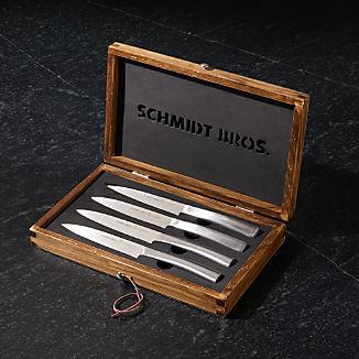 Schmidt Brothers ® Highline Steak Knives in Decorative Box, Set of 4