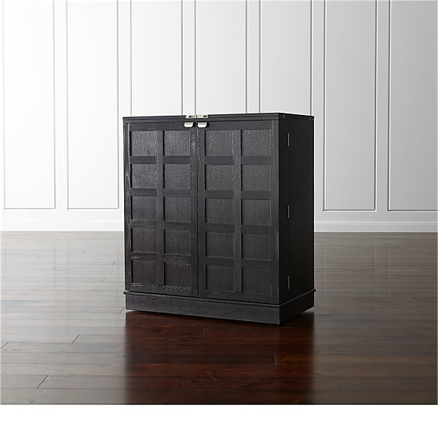 Steamer Bar Cabinet Reviews Crate And Barrel