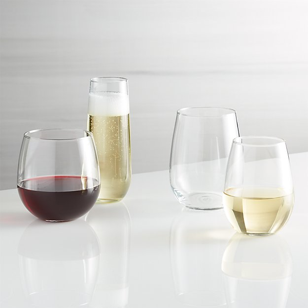 Stemless Wine Glasses - Image 1 of 13