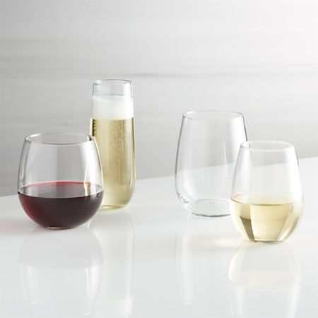 Stemless Wine Gles Crate And Barrel