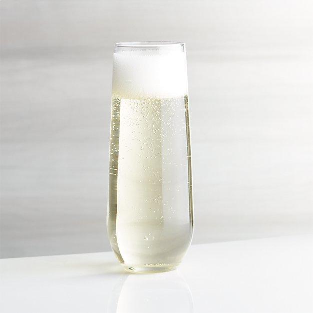 Stemless Flute Glass 9 oz.
