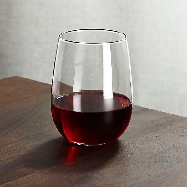 Stemless Wine Glass 17 oz.