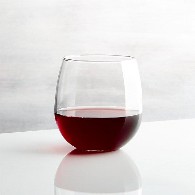 Stemless Red Wine Glass 17 oz.