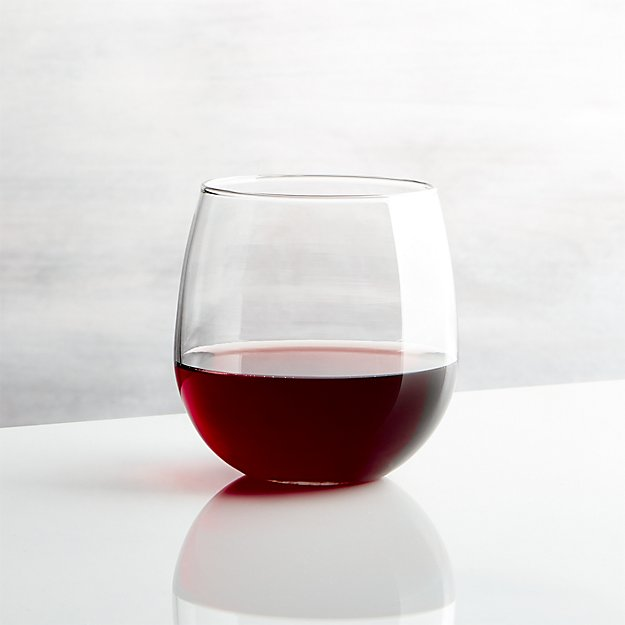 Stemless Red Wine Glass 17 oz. - Image 1 of 13