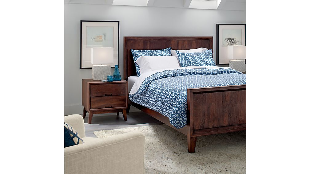 SteppeBedroomCollctAC15  SteppeBedroomCollectionOC15 SteppeBedroomCollectionSC11 Steppe Queen Bed Reviews Crate and Barrel