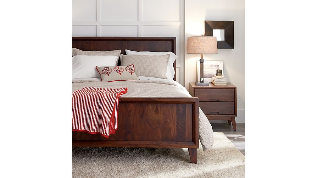 crate and barrel bedroom furniture.  Steppe Bed Crate and Barrel