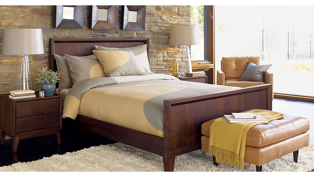 Steppe Queen Bed Crate And Barrel