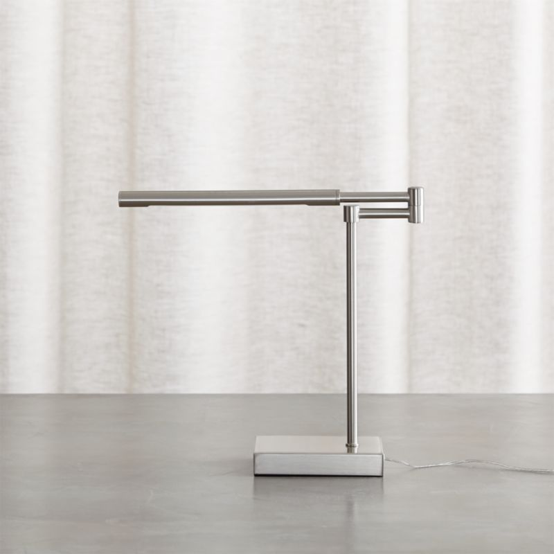 Sterling Desk Lamp Reviews Crate And Barrel