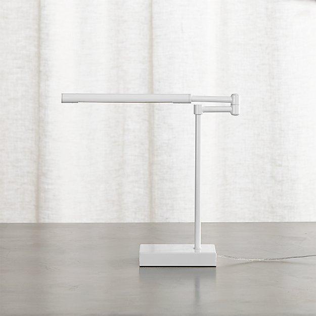 Sterling White Desk Lamp