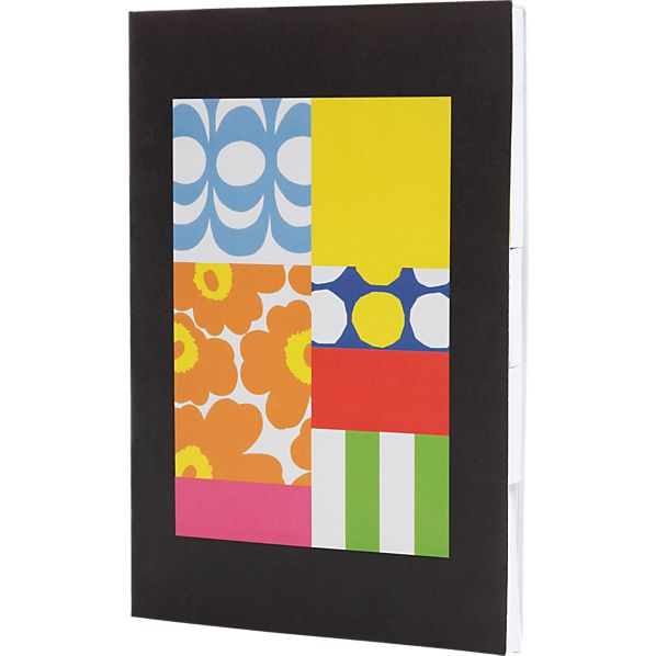 Set of 10 Marimekko Sticky Notes
