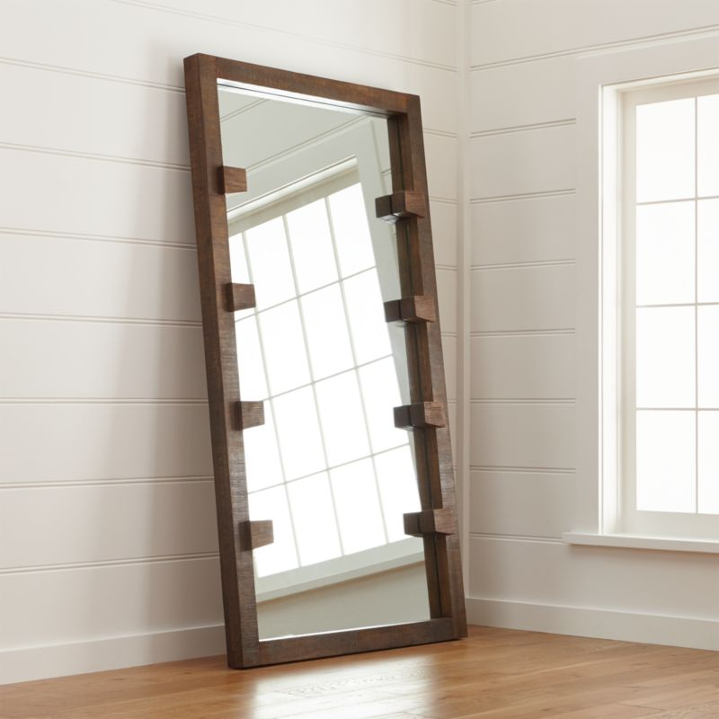 Stilt Floor Mirror Reviews Crate And Barrel