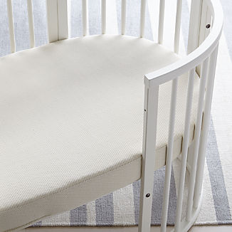 Stokke® Sleepi Mattress by Colgate Organic Cotton Oval Crib Mattress