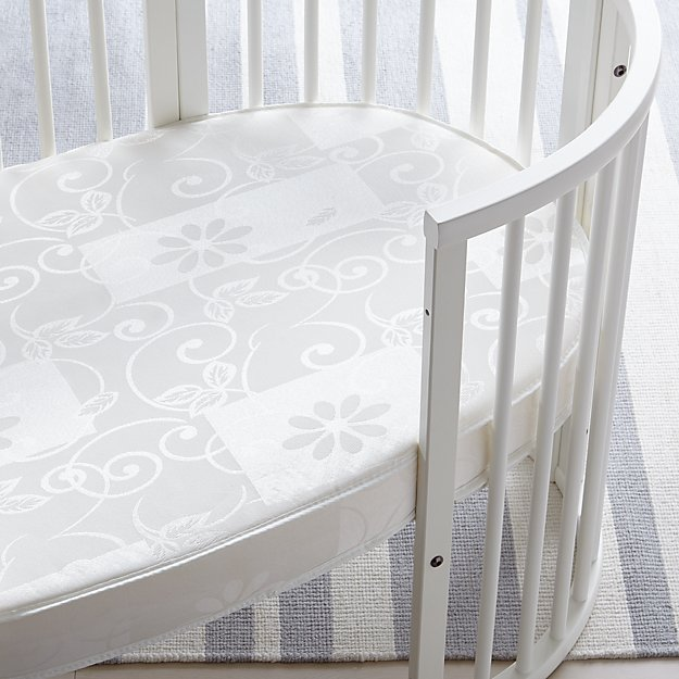Stokke® Sleepi Mattress by Colgate Oval Crib Mattress - Image 1 of 3