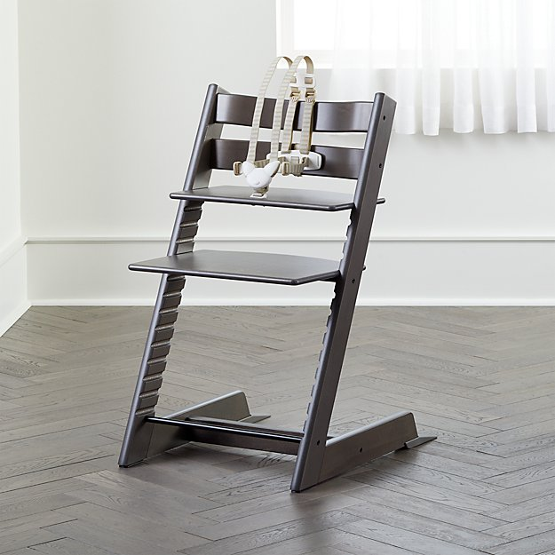 Grey Stokke High Chair Reviews Crate And Barrel