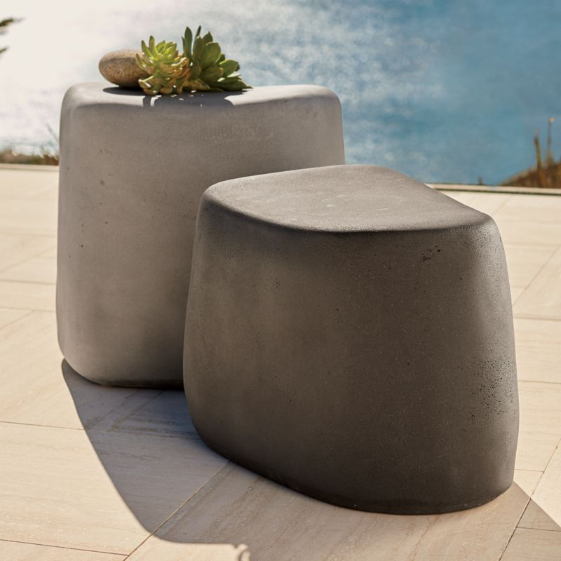 Stone Stools Crate And Barrel