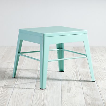 Enjoyable Squared Up Steel Mint Step Stool Alphanode Cool Chair Designs And Ideas Alphanodeonline