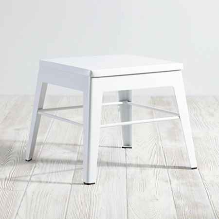 Prime White Metal Stool Reviews Crate And Barrel Pabps2019 Chair Design Images Pabps2019Com