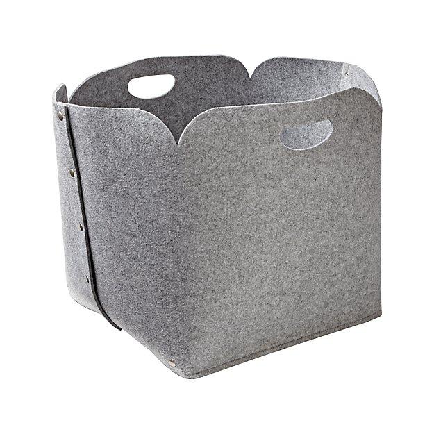 Snap Grey Floor Bin - Image 1 of 4