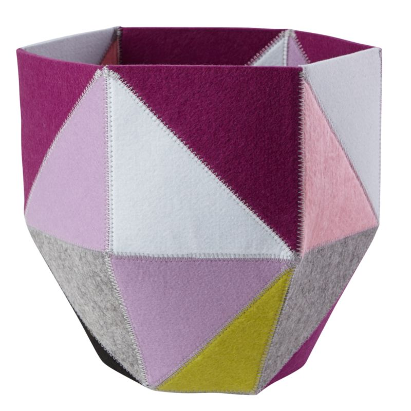 Quartz Cube Bin Purple In Clearance Kids Accessories