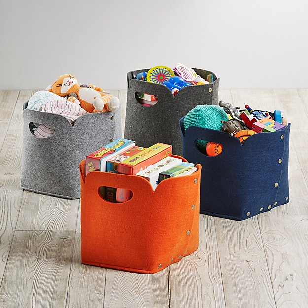 Aw Snap Cube Storage Bin Crate And Barrel