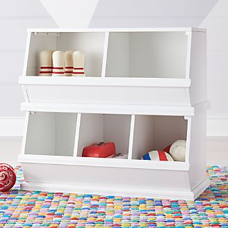 kids toy storage furniture. Storagepalooza White Toy Cubby Kids Storage Furniture O