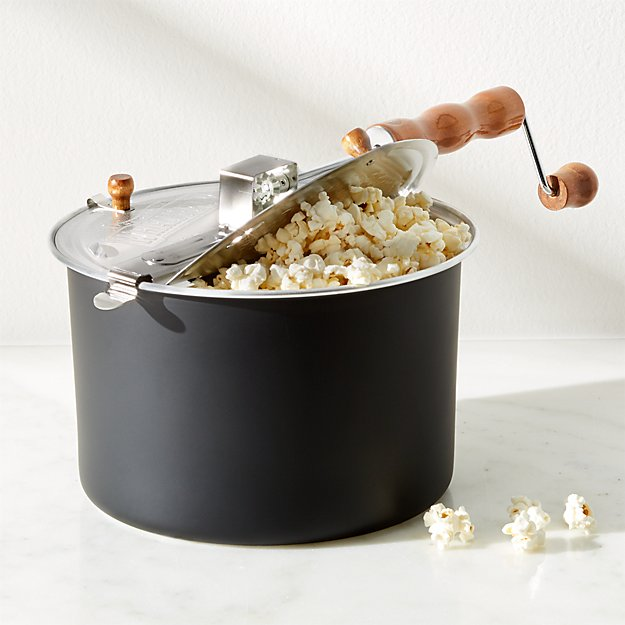 Stovetop Black Popcorn Popper Reviews Crate And Barrel