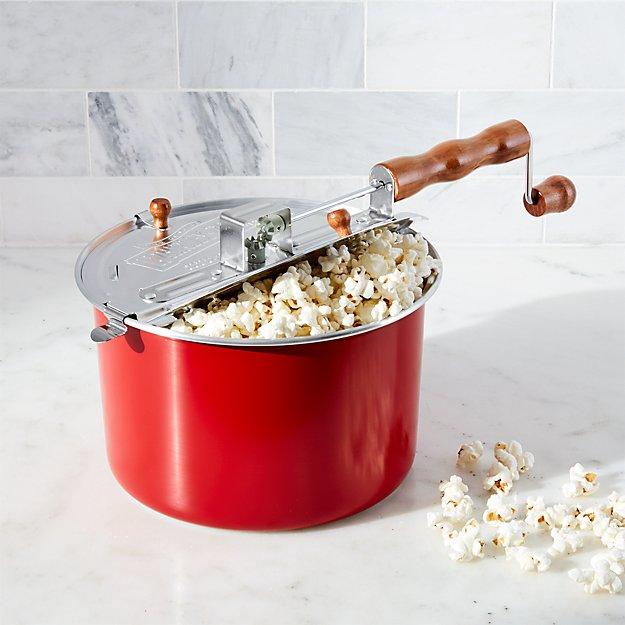 Stovetop Popcorn Popper Red