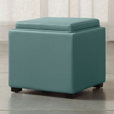 Strange Stow Ocean 17 Leather Storage Ottoman Machost Co Dining Chair Design Ideas Machostcouk