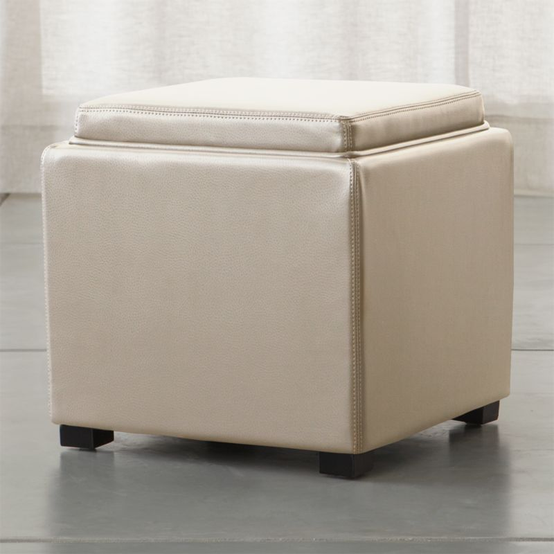 Ottomans and Storage Cubes | Crate and Barrel