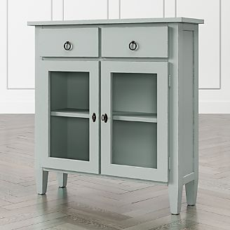 Stretto Blue Grey Entryway Cabinet