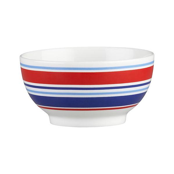 "Stripes 4.5"" Ice Cream Bowl"