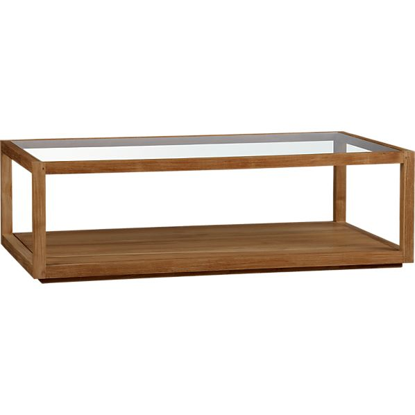 Structure Rectangular Coffee Table