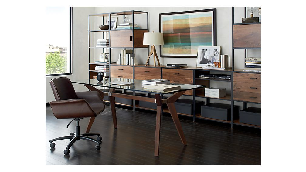 Knox Low Open Bookcase