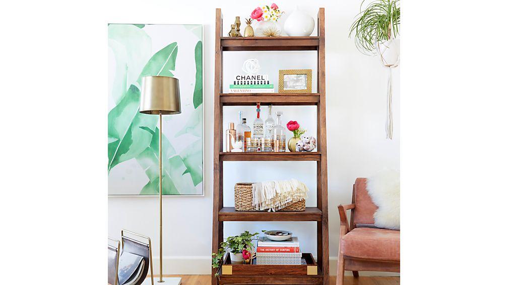 Strut Sheesham Bookcase