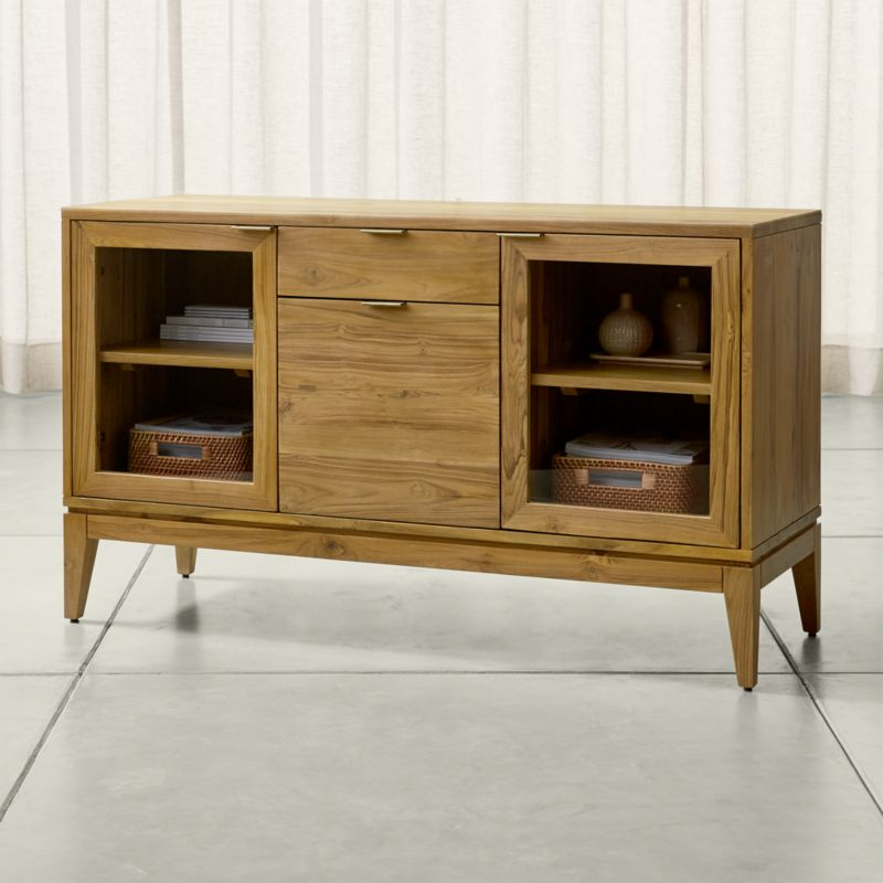 Storage Cabinets And Display Cabinets Crate And Barrel