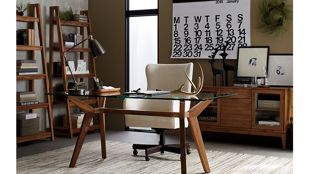 Liv Upholstered Wingback Office Chair