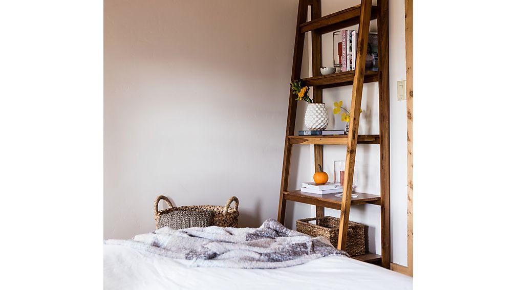 Strut Teak Bookcase