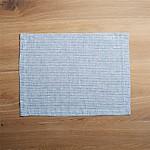 Suits Blue Stripe Linen Placemat
