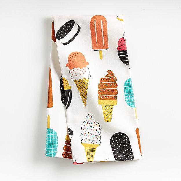 Summer Treats Dish Towel - Image 1 of 4