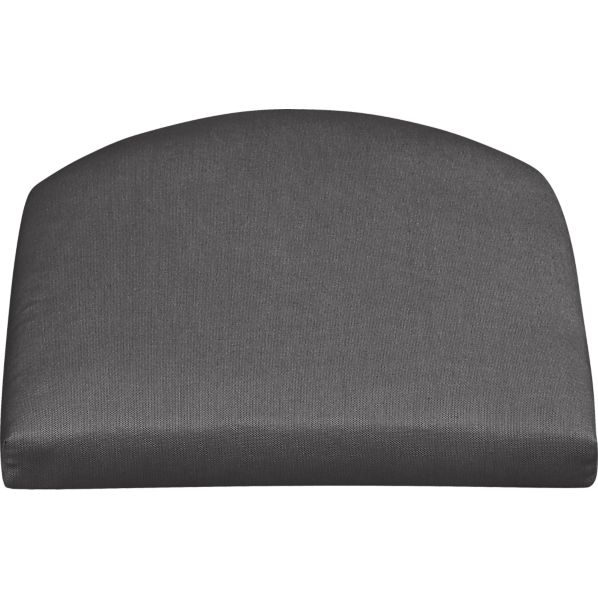 Summerlin Sunbrella ® Charcoal  Arm Chair Cushion