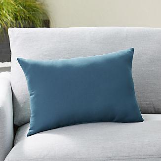 Sunbrella ® Sapphire Outdoor Lumbar Pillow