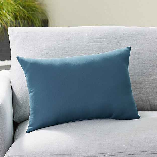 Sunbrella ® Sapphire Outdoor Lumbar Pillow - Image 1 of 3