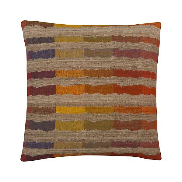 "Sunset Stripe 20"" Pillow"
