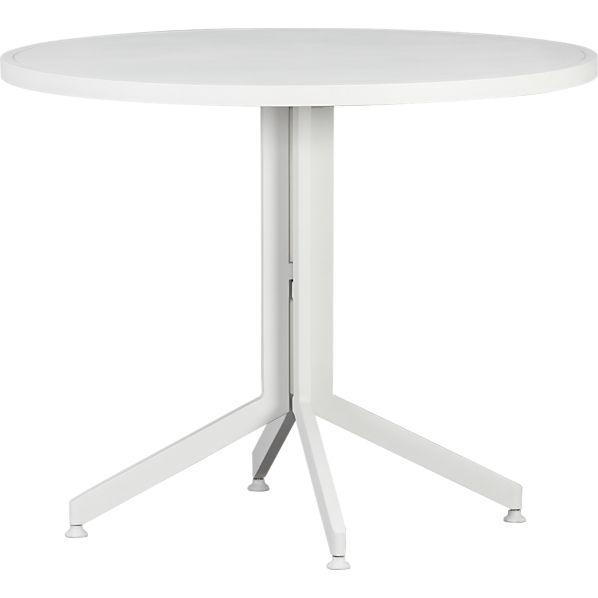 Surf White Flip-Top Table