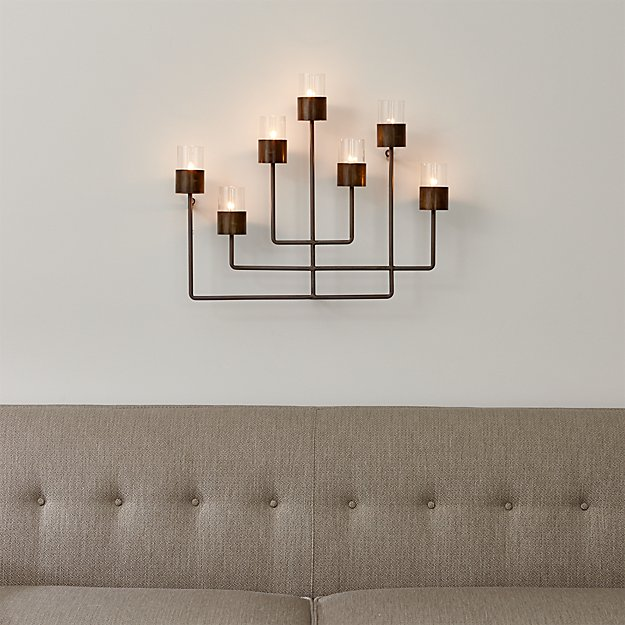 Surita Wall Tea Light Candle Holder