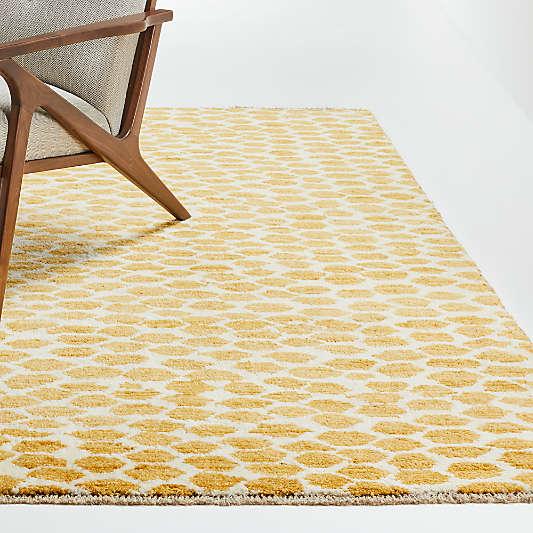 Suzette Yellow Geometric Rug