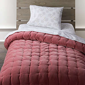 Toddler Bedding Ships Free Crate And Barrel